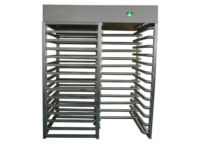 Indoor / Outdoor Security Turnstile Gate , 110V / 220V Turnstile Entrance Gates