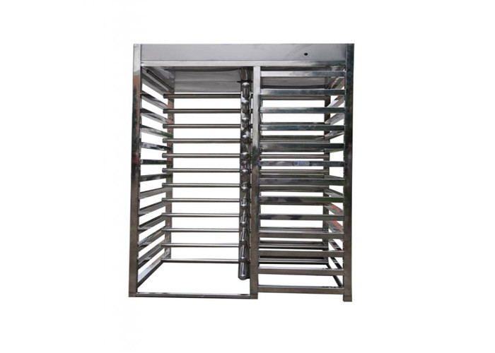 Custom Pedestrian Mechanical Full Height Turnstile Turn Style Gate