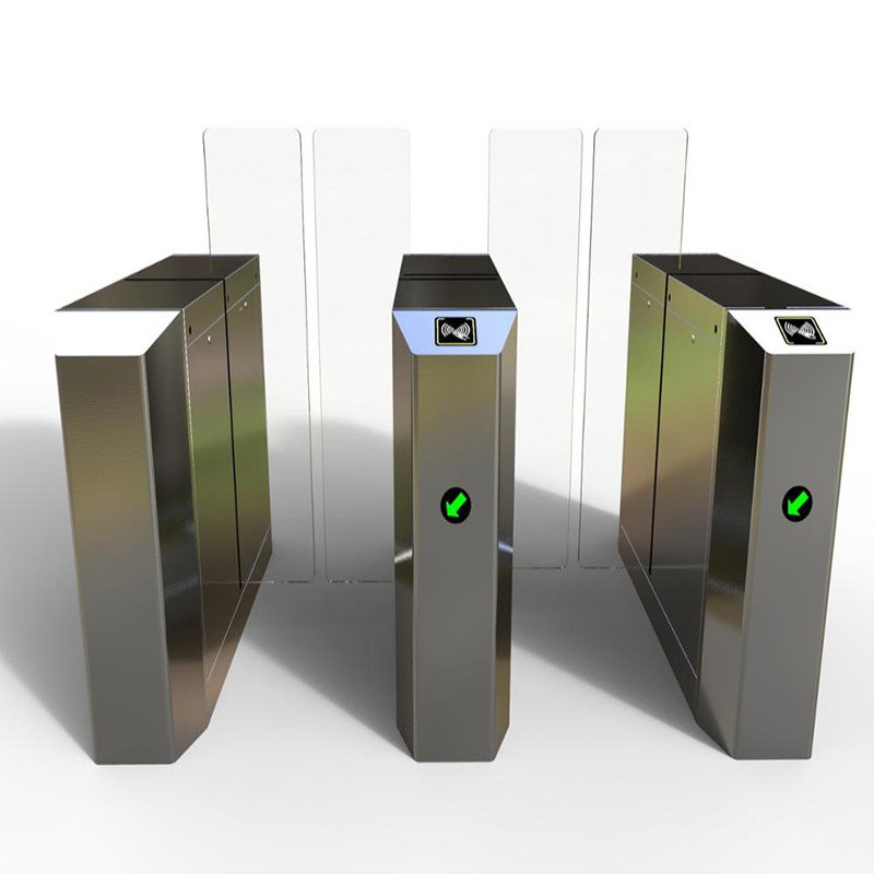 Airport Turnstile Entry Systems Security Checkpoint Pedestrian Control DC Motor