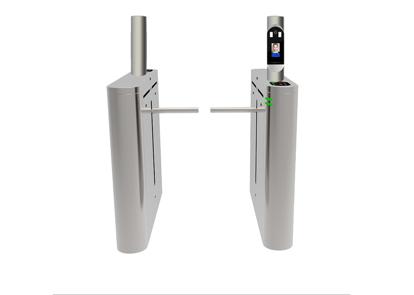 304 Stainless Steel Drop Arm Gate Entrance High Definition Face Recognition System